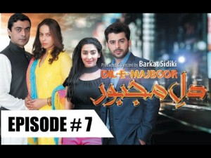 Dil-e-Majboor – Ep # 7 – 13th February 2017