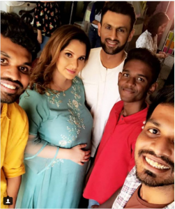 Shoaib Malik throws the most awaited Baby Shower Party For